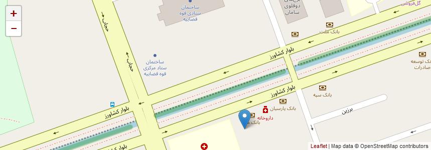 انتخاب محل روی نقشه
